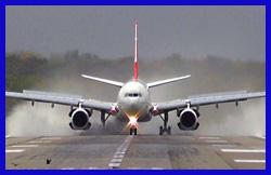 हवाईजहाज में बैठकर हवाईजहाज का वीडियो . . .