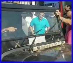 'दबंग 3' फिल्म की शूटिंग करते देख हूटिंग करने लगे लोग