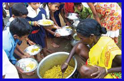 निजि मदरसों में भी मध्याह्न भोजन देने का प्रस्ताव आ सकता है कैबिनेट में