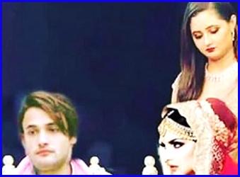 असीम रियाज और हिमांशी खुराना की शादी की फोटो वायरल