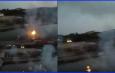 शिप्रा नदी में धमाके फिर निकली आग!